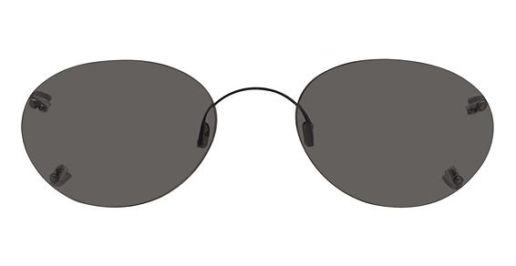Hilco Rimless Oval Sunglasses