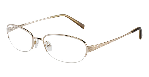 Silver Dollar Pebble Eyeglasses