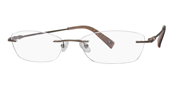 Totally Rimless TR 142 Brown