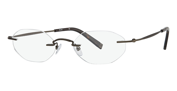Totally Rimless TR 145 Brown