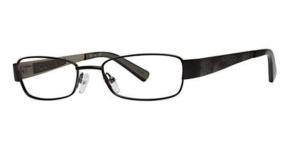 Silver Dollar Jet Eyeglasses