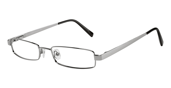 Silver Dollar Ricardo Eyeglasses Frames