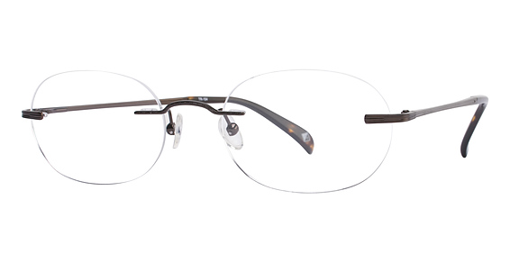 Totally Rimless TR 154 Dark Brown