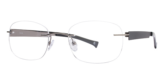Totally Rimless TR 152 Silver