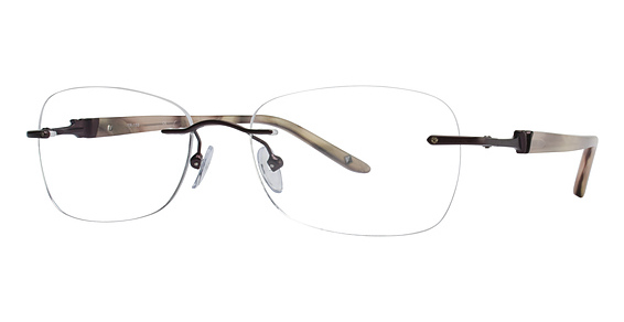 Totally Rimless TR 159 Light Brown