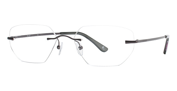 Totally Rimless TR 161 Purple