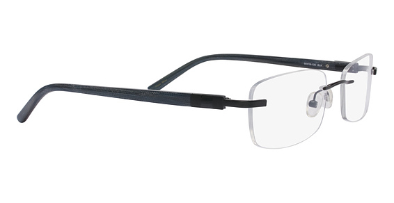 Totally Rimless TR 160 Black