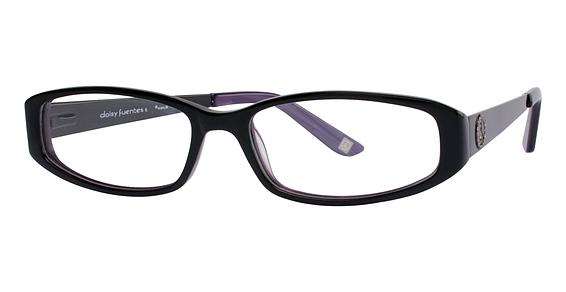 Daisy Fuentes Eyewear Daisy Fuentes Peace 405 Black Purple