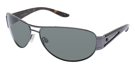 Humphrey's 586023 SHINY GUNMETAL-TORTOISE POLARIZED