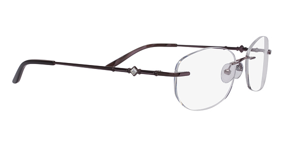 Totally Rimless TR 164 Deep Burgundy