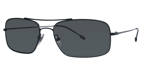 John Varvatos V760 Gunmetal with Transition VI Grey Lenses