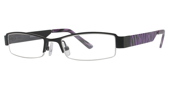 K-12 4064 Black/Purple Zebra
