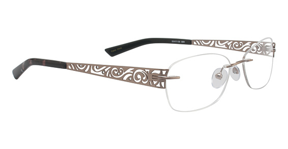 Totally Rimless TR 175 Soft Brown