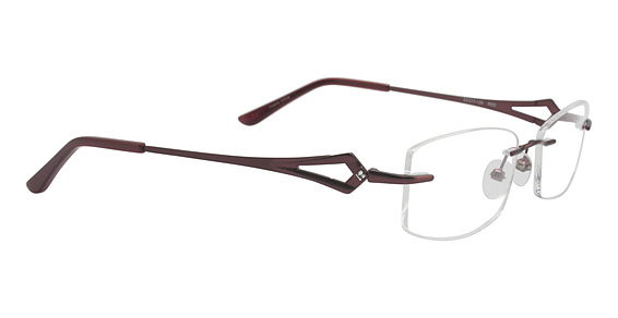Totally Rimless TR 176 Red