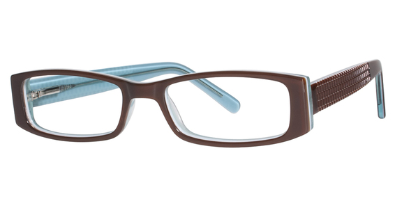 K-12 4069 Brown/Turquoise
