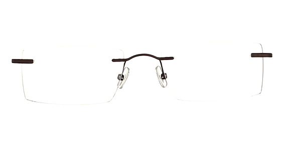Totally Rimless TR 185 Brown