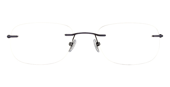 Totally Rimless TR 186 Navy