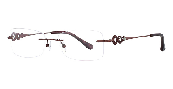Totally Rimless TR 189 Burgundy