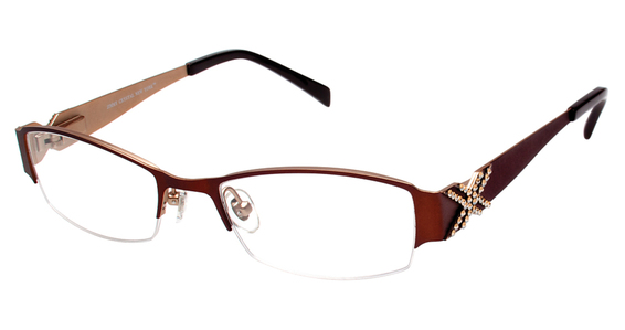 Jimmy Crystal New York Rome Eyeglasses Frames