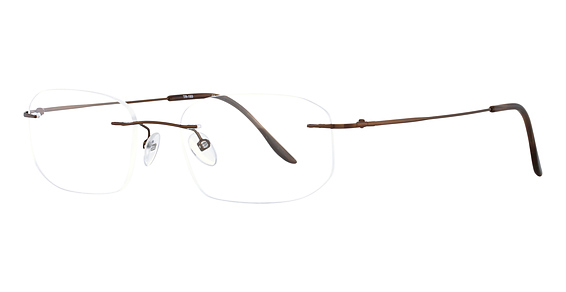Totally Rimless TR 193 Brown