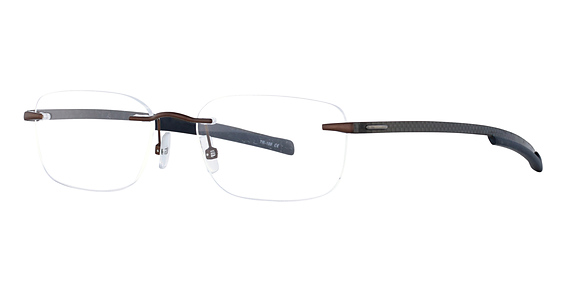 Totally Rimless TR 198 Brown