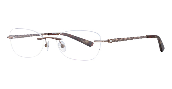 Totally Rimless TR 195 Soft Brown