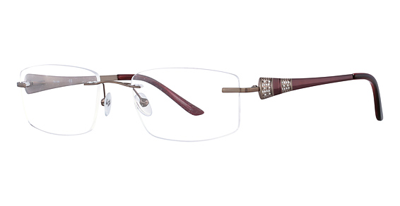 Totally Rimless TR 196 Brown Rose