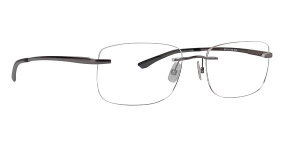 Totally Rimless TR 200 Gunmetal