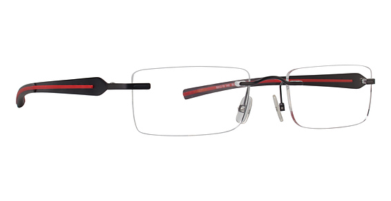 Totally Rimless TR 183 Brown