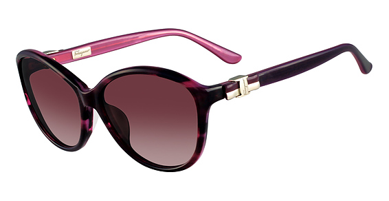 Salvatore Ferragamo SF645S (533) Striped Purple