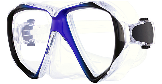 Hilco Spherical Rx Custom Dive Mask Eyeglasses