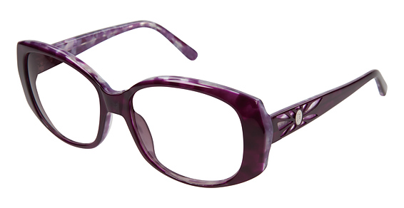 Jessica McClintock JMC 565 Purple Multi
