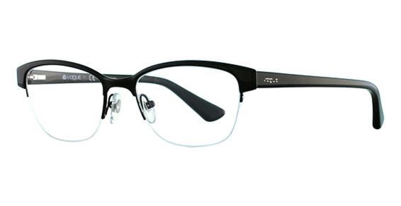 Vogue Eyeglass Frames Black : Vogue VO3917 Eyeglasses Frames