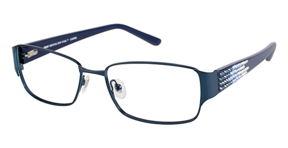 Jimmy Crystal New York Cannes Eyeglasses Frames
