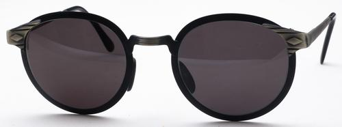 Revue Retro Court Matte Blue with Grey Lenses