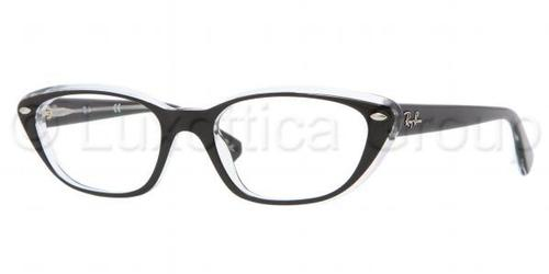 Ray Ban Glasses RX5242 Striped Havana