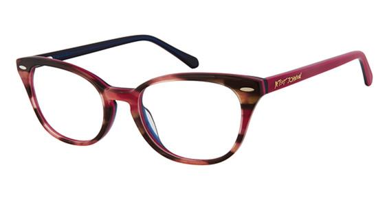 Betsey Johnson Hipster Eyeglasses Frames