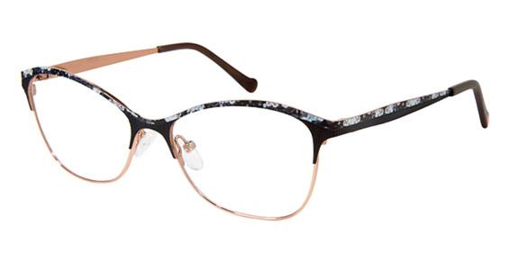 Betsey Johnson Rain Roses Eyeglasses