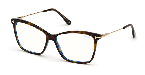 Tom Ford FT5687-F-B Eyeglasses