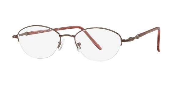 Silver Dollar Simone Eyeglasses
