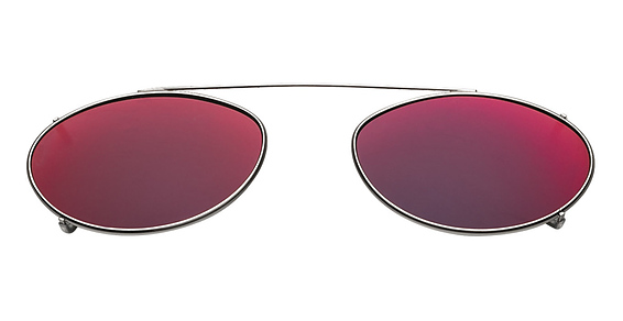 Hilco Flash Mirrored Ellipse Eyeglasses