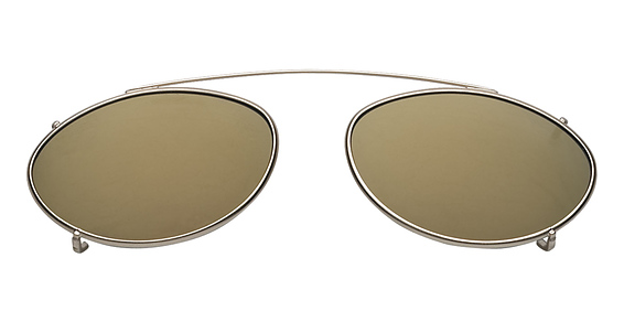 Hilco Flash Mirrored Low Oval Eyeglasses