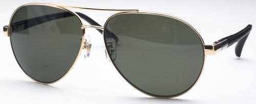 Chopard SCH880 Shiny Gold with Green Lenses