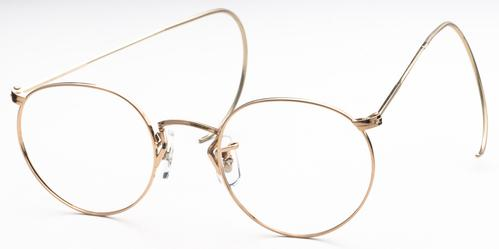 Art-Craft 100A Gold/Cable Temples