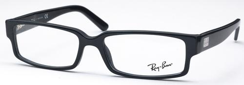 Ray Ban Glasses RX5144 Top Black On White Horn