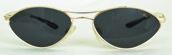 Revue Retro Byte Gold with Brown Lenses