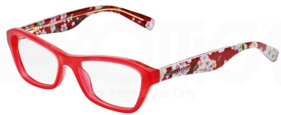Dolce & Gabbana DG3202 ALMOND FLOWERS Eyeglasses Frames
