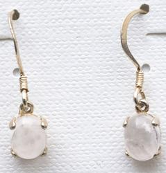 Casa Crystals & Jewelry Earings, 8x6 Cabouchon Crystals