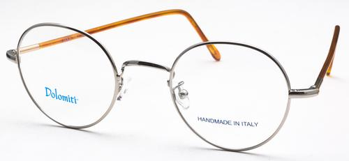Dolomiti Eyewear PC2/P Shiny Silver with Dark Tortoise Polo Temples