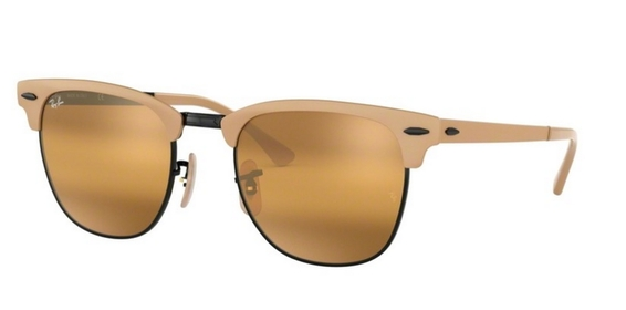 Ray Ban RB3716 Clubmaster Sunglasses